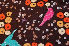 B Fabrics | Japanese Linen Cotton Print