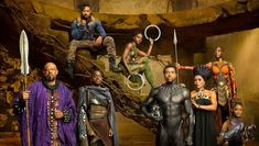 Fans of the Marvel Comics know that the original Black Panther comic book superhero wore a cape when on duty. However, Black Panther makes his debut in the Marvel Cinematic Universe without a cape. Black Panther Marvel, Black Panther Movie Cast, Black Panther 2018, Black Panthers, Film Black, Movie Black, Captain America, Entertainment Weekly, Christian Bale