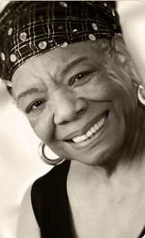 "Maya Angelou. I can't even begin to explain how much her words inspire me, how much they move me. She speaks directly to my heart, calms the seas and quiets the storms. She's given me my mantra for life... ""I can be changed by what happens to me. But I refuse to be reduced by it"". Soul sister x NdS"