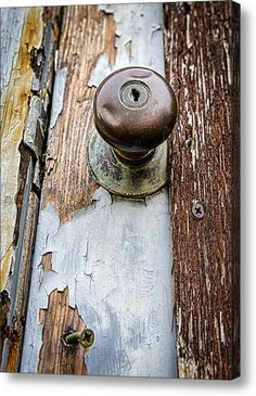 """""""Dented Doorknob"""" Canvas Print / Canvas Art By Caitlyn Grasso. #urbandecay"""