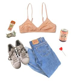 """""""Untitled #54"""" by itskoda on Polyvore featuring Levi's and adidas"""