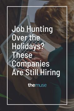 Now Hiring | Job Listings | Companies Hiring Now || Just because the holidays are around the corner doesn't mean you need to put your job search on hold. These companies are all still hiring. #sponsored Companies Hiring, Jobs Hiring, E Trade, Customer Insight, Hiring Now, Management Company, Job Opening, Job Search, Be Still