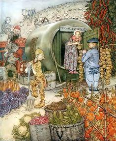 English fairy tales Arthur Rackham «Английские сказки»