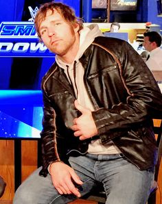The Cincinnati Scrapper Dean Ambrose, Roman Reigns, Wwe Superstars, Cincinnati, Husband, Leather Jacket, Wrestling, Addiction, Rocks