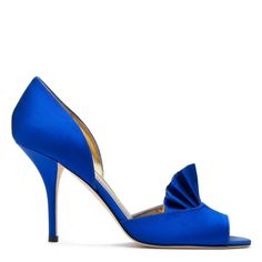 great shoe for a bride, wish Kate Spade made it in purple or red !