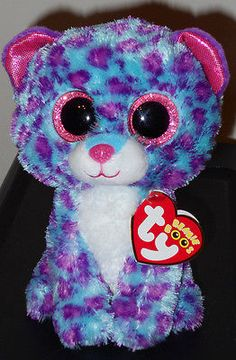 """Ty Beanie Boos - DREAMER 6"""" Leopard ~ Justice Exclusive ~ 2016"""