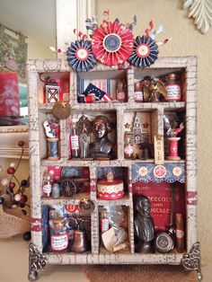 Plays Well With Paper: Patriotic Configurations Memory Box