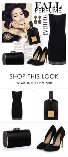 """""""Fun Fall Perfume/Tom Ford"""" by clotheshawg ❤ liked on Polyvore featuring beauty, Mint Velvet, Tom Ford, Jimmy Choo and Kenneth Jay Lane"""