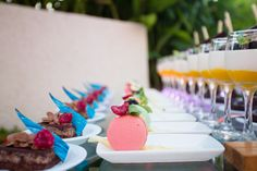 Your guests will love all the food at your wedding #NowAmberPuertoVallarta #Mexico #DestinationWedding