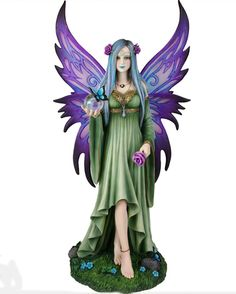 Mystic Aura Fairy by Nemesis Now from Absolute Angels Mystic Aura is an incredibly detailed hand crafted Limited Edition figurine from Anne Stokes artwork