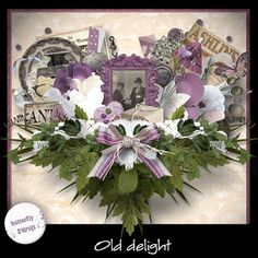 "Scrapbooking im Rollinest: ""OLD DELIGHT"" NEW Kit by ButterflyDsign"