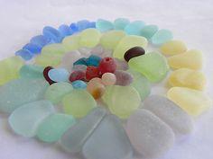 Lovely rare sea glass
