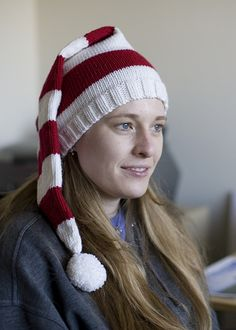 Ravelry: Striped Stocking Caps pattern by Sara Lucas and Allison Isaacs