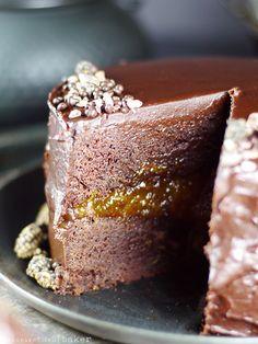 Sacher Torte {Gluten-Free, Vegan, Refined Sugar-Free}