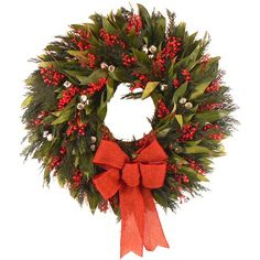 I pinned this Jingle Holiday Wreath from the Rustic & Refined event at Joss and Main!