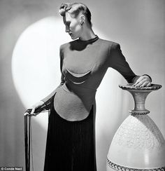 Lee Miller An unpublished picture taken in 1941 for British Vogue