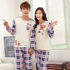 Couples autumn and winter lovely pajamas for women Couple Clothes, Couple Outfits, Cheap Clothes, Pajamas Women, Autumn, Couples, Blouse, Winter, T Shirt