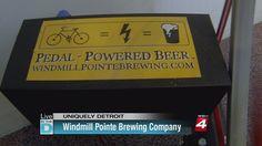 pedal-powered nano brewery.
