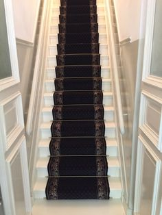 www.deroodeloper.nl; Louis de Poortere #traploper Carpet Stairs, Mudroom, Piano, Home And Garden, Interior, Stairway, Indoor, Stair Runners, Pianos
