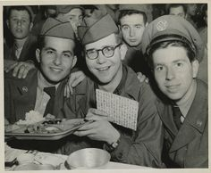 Soldiers celebrating Passover in Seoul, Korea, 1952