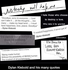 Dylan Klebold Quotes♥