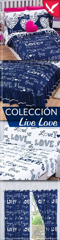 Colchas Concord, Live Love, Wave, Quilts, Furniture