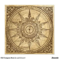 antique compass rose - Google Search                              …