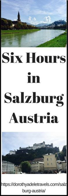 Top Places to see in Salzburg, Austria | The Places She Goes
