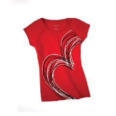 Ideology Go Red For Women® tee — there's nothing wrong with showing a little love