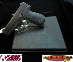 A premium firearm at a very affordable price. A low profile firearm designed to be thin and compact. This is a single stacked magazine that is chambered for 9mm. Comes with the original box. This item is pre-owned but in very good condition with only a few signs of wear or use.