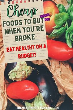Learn how you can buy cheap food even when you're broke. You can still make amazing healthy food on a budget that your family will eat! Healthy Fats, Healthy Snacks, Healthy Eating, Healthy Recipes, Cheap Food, Cheap Meals, Save Money On Groceries, Frozen Vegetables, Canned Chicken