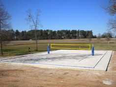 How to build a backyard sand volleyball court   Backyard ...