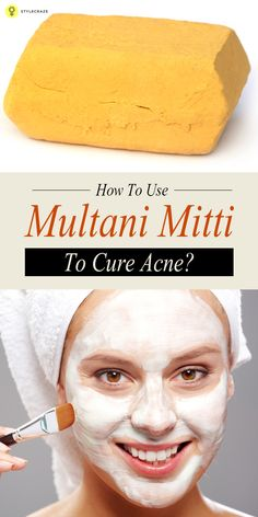 Multani mitti is one of the most favoured home remedies for skin troubles. Here is how you can use multani mitti for #acne !
