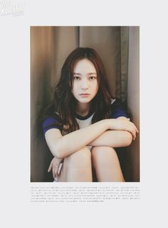 "[SCAN] 150613 OhBoy! Vol 058 - Krystal | DearKrystal.net - f(x) Krystal International Fansite ""Shine Bright Like A Krystal"""