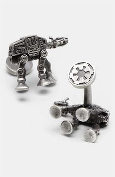 Even more awesome than the Deathstar ones. Cufflinks, Inc. 'Star Wars™ - AT-AT Walker' Cuff Links   Nordstrom