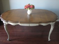 European Paint Finishes: French Provincial Dining Set ~                                                                                                                                                      More