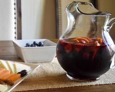 This Sangria Recipe is my go to for any party or get together. It has a mellow and fruity taste that's not too sweet or too dry. The brown sugar is the key and if you're looking to embrace a little more Fall flavor, throw in a cinnamon stick or two. Be sure to have backup, this one always gets polished off.