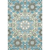 Found it at Wayfair - Tia Aqua Area Rug