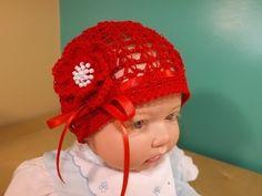 ▶ Crochet Summer Baby Hat - YouTube