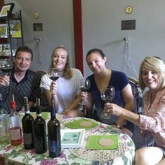 Today we had this beautiful family from Boston with us for a morning Wine Tasting, we are so happy to have had you with us! Wine Tasting Experience, Beautiful Family, Happy, Italia, In Laws, Ser Feliz, Being Happy