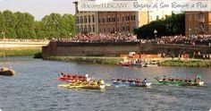 Regata di San Ranieri:Celebrazione Patrono a Pisa, 17 giugno