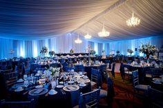 Blue Wedding at Embassy Suites
