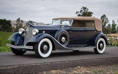 1934 Lincoln KB Convertible Sedan Coachwork by Dietrich - (Ford Motor Company, Lincoln Motor Car Co. Division, Detroit, Michigan 1914-present)