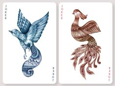 Hand-illustrated by Russian artist Karina Eibatova, the limited-run Aves deck is inspired by various species of birds from around the world and is printed on the highest-quality Bicycle card stock. Each court card in this deck is a work of art featuring Eibatova's whimsical, delicate illustration. The tuck case's raised surface brings the artists' detailed style into even sharper focus and completes this exceptionally well-made and visually stunning deck of cards. Each 52-card deck also…