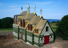 First photographs of Grayson Perry and FAT's house for Alain de Botton.