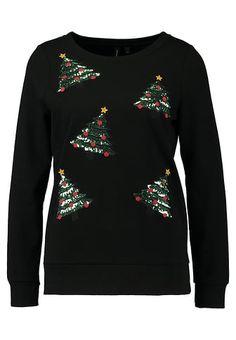 Vêtements Vero Moda VMCHRISTMAS - Sweatshirt - black noir: 34,95 € chez Zalando (au 07/12/17). Livraison et retours gratuits et service client gratuit au 0800 915 207.