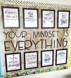 Pin by amy mendez on growth mindset classroom Classroom Layout, Classroom Walls, Classroom Design, Future Classroom, Classroom Themes, Classroom Organization, Classroom Environment, Back To School Bulletin Boards, Middle School Classroom