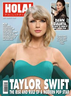 Taylor Swift – HOLA! Philippines Magazine (November 2015)