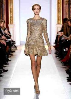 فستان من تصميم زهير مراد مجموعة هوت كوتور صورة 63