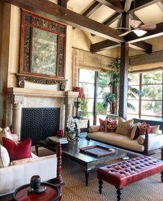 Interior House Colors, Interior Design, Giraffe Room, Cosy House, Malibu Beaches, Hippie Home Decor, Traditional Interior, Hallway Decorating, Balinese